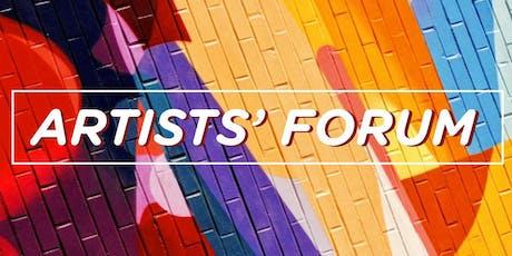 Artists' Forum tickets