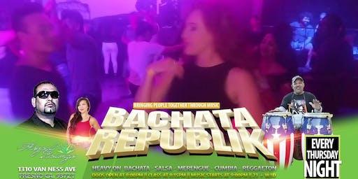 Bachata Republik Thursdays