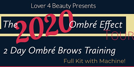 2020 Ombre' Brows Training (Raleigh, NC) tickets