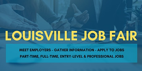 Louisville Job Fair - September 21, 2020 - Career Fair tickets