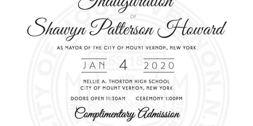Inauguration of Mayor Shawyn Patterson Howard