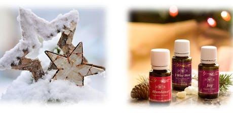 Ätherische Öle für ein  romantisches Weihnachten Tickets