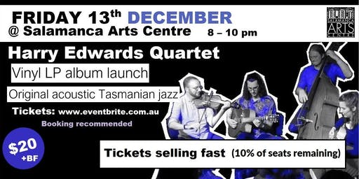 Harry Edwards Quartet - Original Tasmanian Jazz (Vinyl LP Album Launch)