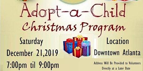 Adopt-A-Child Christmas Program tickets