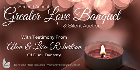 Greater Love Banquet & Silent Auction tickets