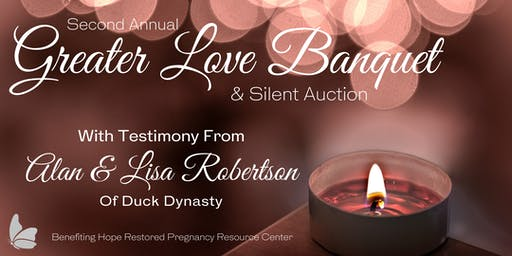 Greater Love Banquet & Silent Auction