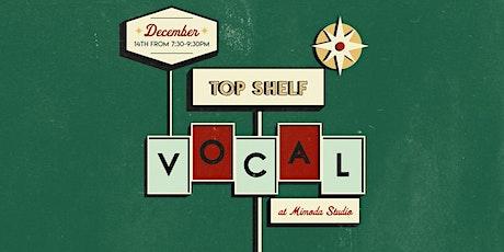 Top Shelf Vocal @ Mimoda Studio tickets
