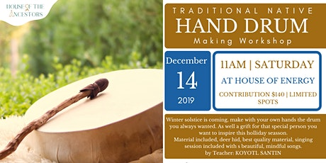 Traditional Native Hand Drum Making Workshop tickets