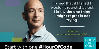 Coding is for Everyone: Hour of Code