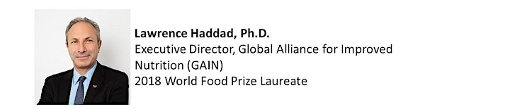 Moving Towards a Healthier Food System - Lawrence Haddad, Ph.D. image