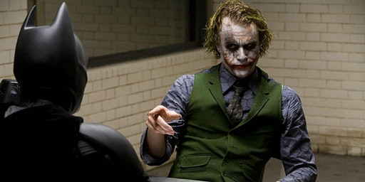 35mm movie palace screening of Christopher Nolan's THE DARK KNIGHT