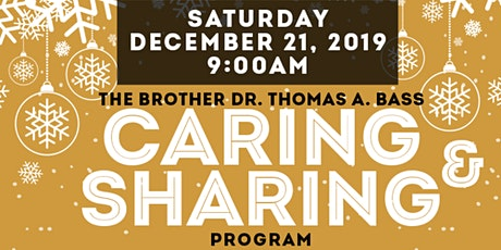 Caring & Sharing tickets