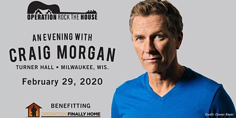 Operation Rock the House presents Craig Morgan tickets