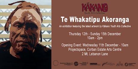 Kākano Youth Arts Collective presents Te Whakatipu Akoranga tickets