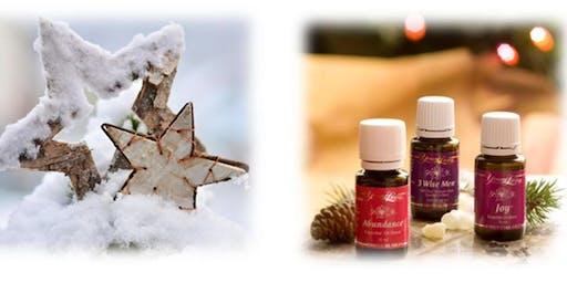 Ätherische Öle für ein romantisches Weihnachten