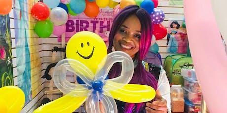 Smiles for kids! Balloon Animals! Christmas Market. tickets