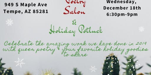 Queer Poetry Salon & Holiday Potluck