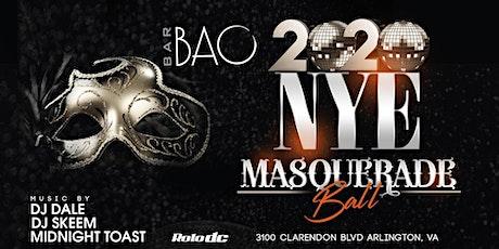 Bar Bao 2020 NYE Masquerade Ball tickets