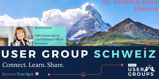 Alteryx User Group Schweiz/Switzerland Q1/2020