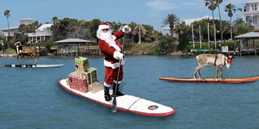 Christmas Light Paddle and Party w Kayaks and SUP