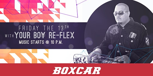 Wintery Friday the 13th at Boxcar