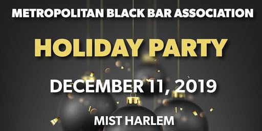 2019 MBBA Holiday Party!