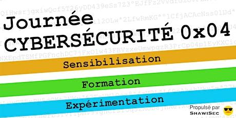 Journée Cybersécurité 0x04 - ShawiSec billets