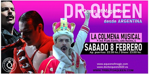 DR QUEEN - A QUEEN OF MAGIC TOUR - ARANDA DE DUERO