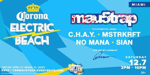 Corona Electric Beach x Mau5trap (Art Week)