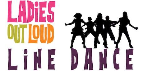 Member Registration Beginner Line Dance Level 1 & 2 (12 week class) tickets