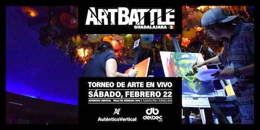 Art Battle Guadalajara - 22 de febrero, 2020