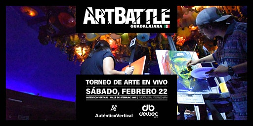 Art Battle Guadalajara - 22 de febrero, 2020