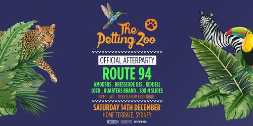 The Petting Zoo 2019 - Sydney - AFTERPARTY