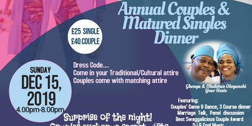 Couples and Matured Singles Dinner
