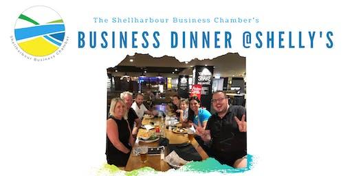 Business Dinner & Drinks - Shellharbour Business Chamber