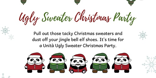 Unita's Ugly Sweater Christmas Party
