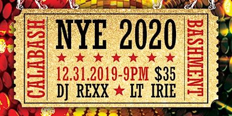 Calabash Bashment NYE 2020 tickets