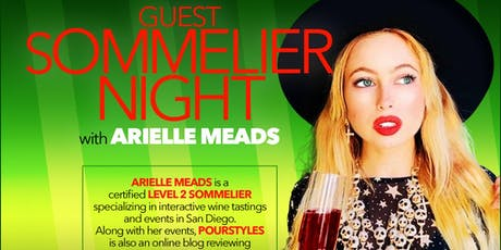 Guest Sommelier Night with Arielle Meads tickets