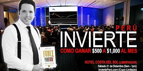 INVIERTE PERÚ (Arequipa) entradas