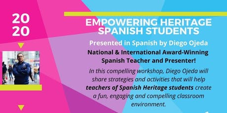 Empowering Heritage Spanish Students tickets