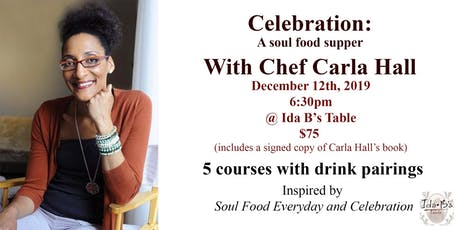Carla Hall's Celebration: A soul food supper tickets