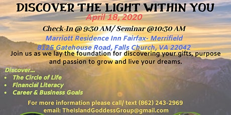 Discover The Light Within You tickets