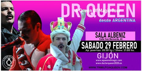 DR QUEEN - A QUEEN OF MAGIC TOUR - GIJON entradas