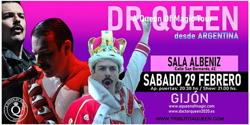 DR QUEEN - A QUEEN OF MAGIC TOUR - GIJON