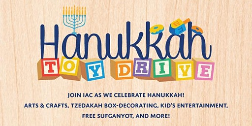 IAC CARE - Hanukkah Toy Drive