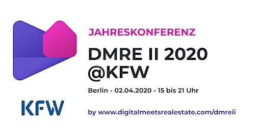 Digitalmeeetsrealestate.com Jahreskonferenz am 02.04.2020 bei der KfW