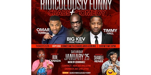 Ridiculously Funny Comedy Series January!