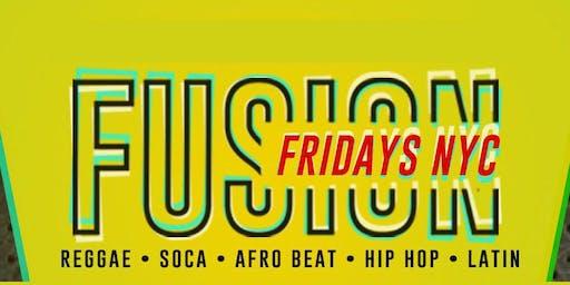 Fusion Friday NYC at Maracas Nightclub WeeKly Rsvp