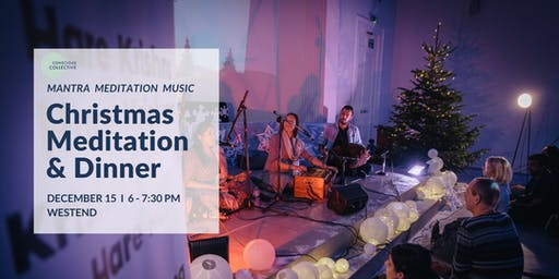 Christmas Guided Meditation & Dinner West End, 15th December