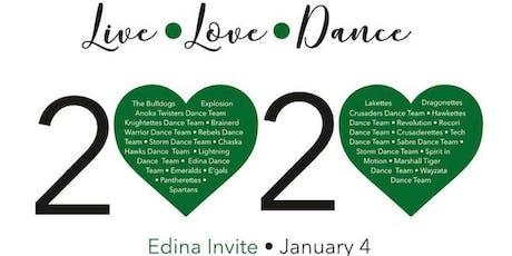 "Edina Invitational 2020 - ""Live, Love, Dance"" tickets"